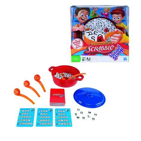 Scrabble Alphabet Scoop Board Board Messiah