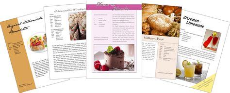 kochbuch layout word kochbuch selbst gestalten in 5 schritten kleingedruckt net