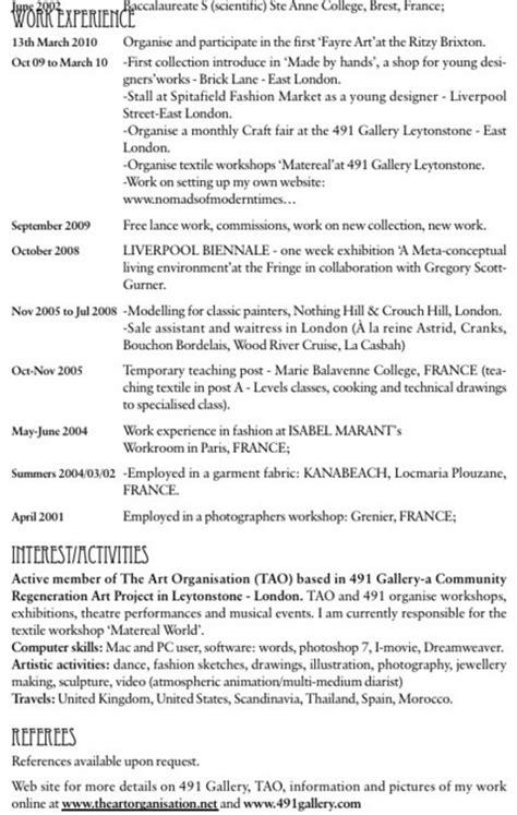 Definition Resume En Anglais Exemple De Cv En Anglais Comment 233 Pour U