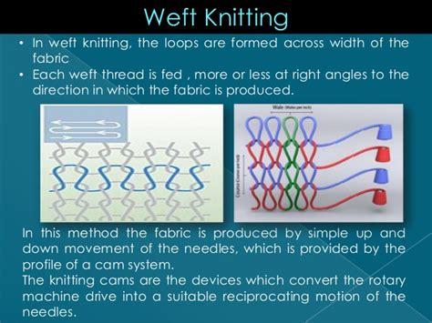 weft knitting definition weft knitting