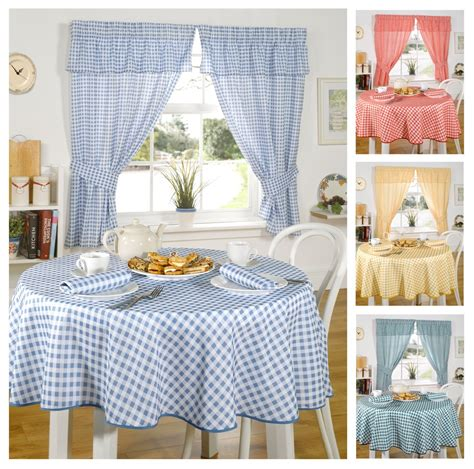 Checkered Kitchen Curtains Gingham Curtains Uk Curtain Menzilperde Net