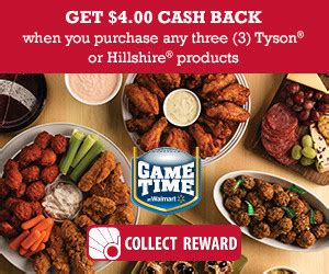 Can You Get Cash Back On A Walmart Gift Card - tyson walmart gameday get cash back seriously free stuff