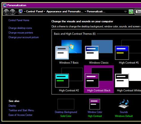 microsoft appearance themes 10 dark windows themes skins to reduce eye strain