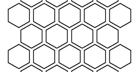 1 5 inch hexagon pattern use the printable outline for