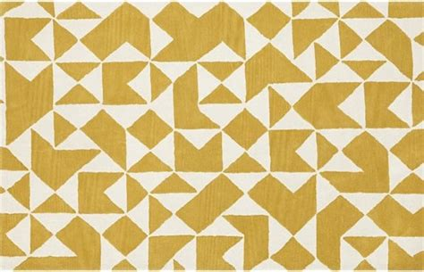 modern yellow rug kipp yellow rug contemporary rugs by crate barrel
