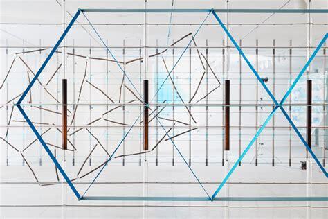 art design genetic screens bouroullec brothers install 17 screens inside tel aviv museum