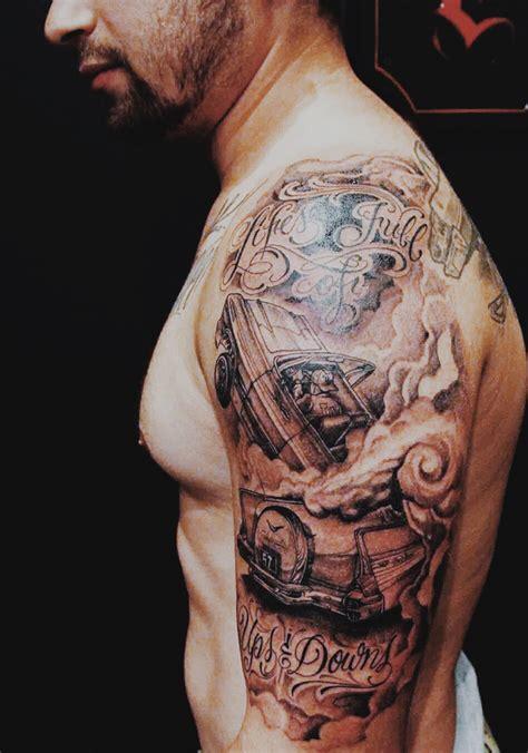 cartoon tattoo los angeles my arm piece by mister cartoon in los angeles tattoos
