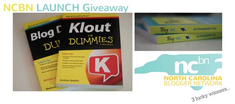Book Giveaway Blog - giveaway 3 blog books for your library nc blogger network