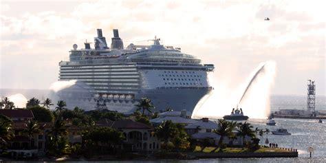 largest cruise line largest cruise ship size fitbudha com