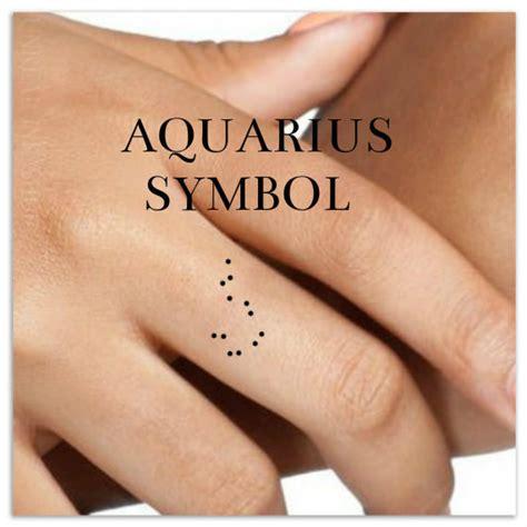 aquarius tattoo on finger aquarius temporary tattoo 2 finger tattoos zodiac star