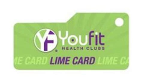 yf youfit health clubs lime card trademark of you fit llc