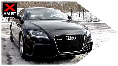 Audi Tt Rs Sound by Audi Tt Rs Exhaust Sound With Performance Exhaust Launch