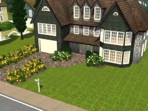 create a house the sims 3 how to build my favorite suburban house youtube