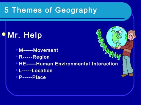 5 themes of geography pictures the five themes of geography