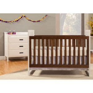 Baby Mod Crib Canada by Baby Mod Modena Mod Two Tone 2 In 1 Convertible Crib