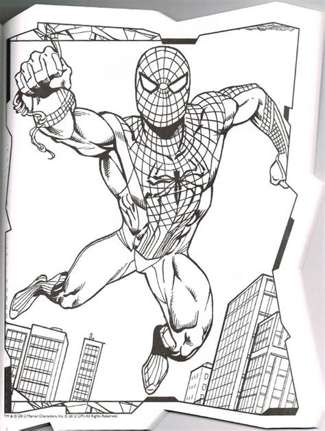 Spiderfan Org Comics Amazing Spider Man Coloring Amazing Spider 2 Coloring Pages