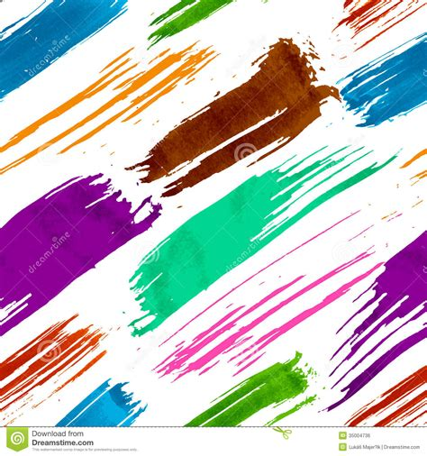 brush with pattern colorful grunge seamless pattern stock vector image
