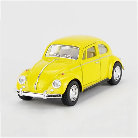 1 32 Volkswagen Beetle 1967 Alloy Diecast Car Model Toys Vehicle Colle 1967 vw beetle yellow type1 1 32 alloy model car t1
