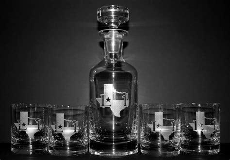 engraved wellington whiskey decanter set personalized