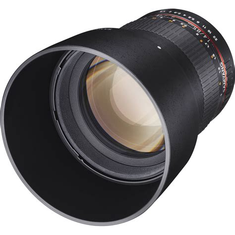 Samyang 85mm F 1 4 Canon samyang 85mm f 1 4 aspherical lens for canon sy85m c b h photo