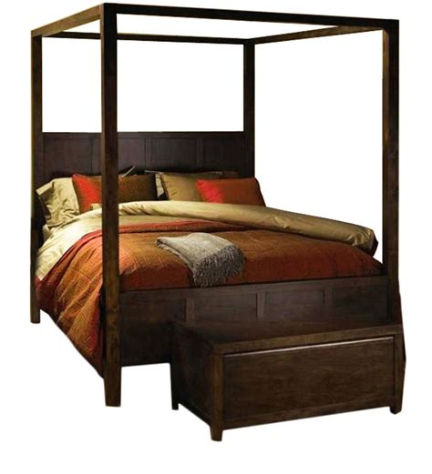 Four Poster King Bed | cayenne finely designed poster bed by mudra online