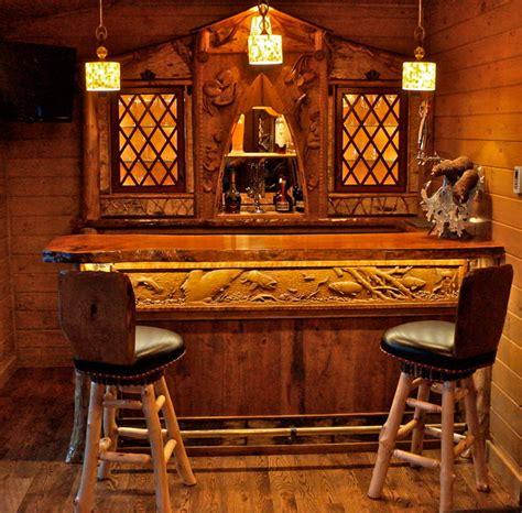 home bar room rustic home bar room