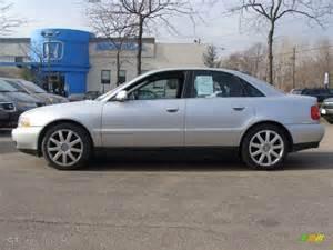 light silver metallic 2001 audi a4 2 8 quattro sedan
