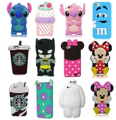 Iphone 7 Plus Rubber 3d Silikon Soft Cover Casing Motif Iron 3d animals soft silicone gel back rubber cover for various phones ebay