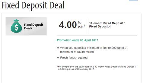 hong leong bank fixed deposit 3月份和4月份的定期存款促销 winrayland