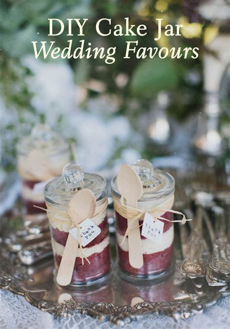 Wedding Cake Jars by Diy Cake Jar Wedding Favours Modern Wedding