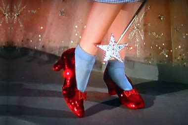 The Of The Stolen Slippers by Wizard Of Oz Slippers Stolen From Staten Island Hotel