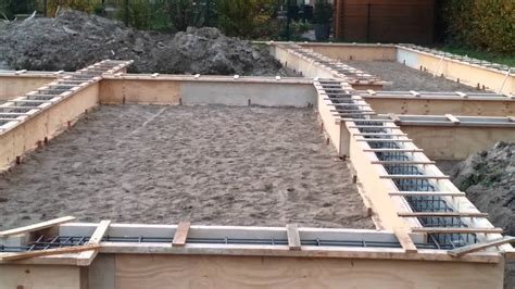 Beton Voor Fundering by Fundering Maken Nieuw Huis