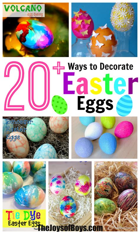 decorate easter eggs 20 fun ways to decorate easter eggs with kids