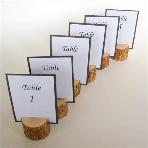 how to make table cards wedding table card holders for 12 tables