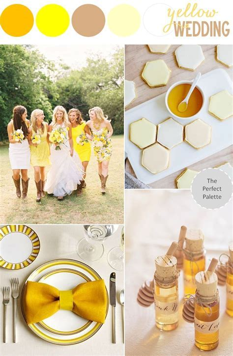 107 best Yellow Weddings images on Pinterest   Yellow