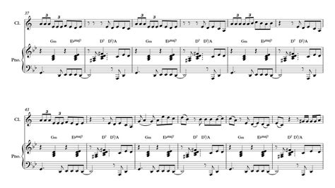 il clarinetto testo camila cabello clarinet sheet