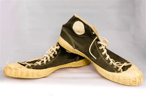 top 50 basketball shoes 40 s 50 s gum soled high top basketball shoes vintage