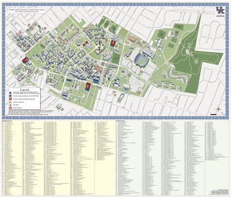 map uky of kentucky of kentucky directions