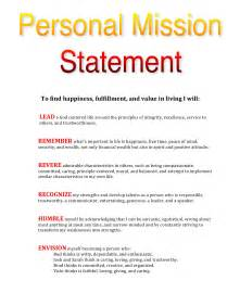 personal mission statement template my personal mission statement leadtoday