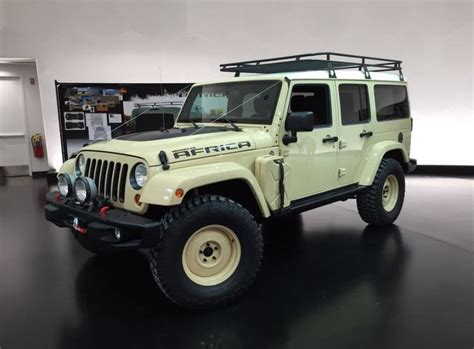 jeep africa another concept vehicle to appear at the
