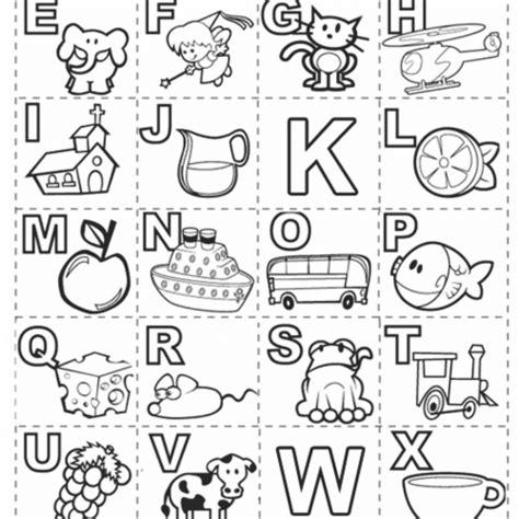 alfabeto para imprimir e pintar alfabeto ilustrado completo para imprimir e colorir