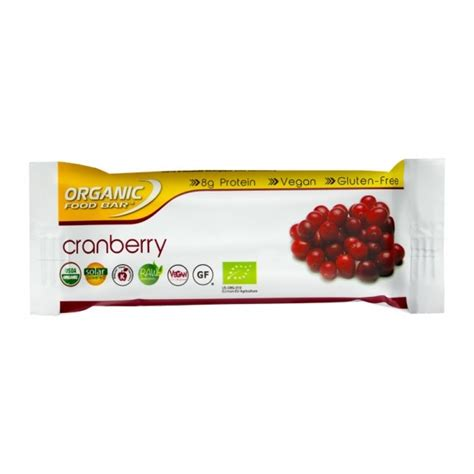 Fitness Barre Cranberry 1 by Organic Food Bar Cranberry Bio Riegel Bei Nu3 Kaufen
