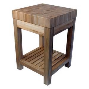 shiloh creek butcher block kitchen island at