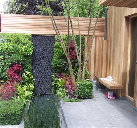 wall garden designs spectacular garden water wall ideas garden club