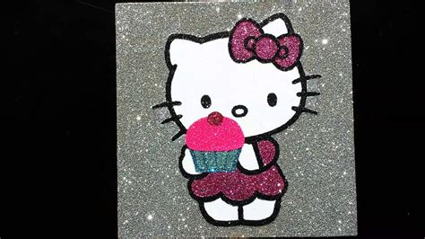 wallpaper hello kitty glitter hello kitty glitter art youtube
