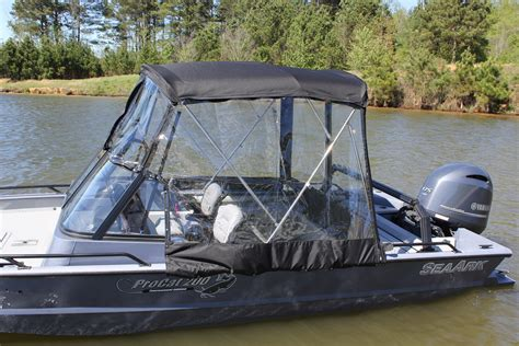 seaark catfish boats procat enclosure seaark boats arkansas