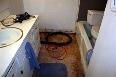 Water damaged subfoor   dry or replace? Advanced subfloor