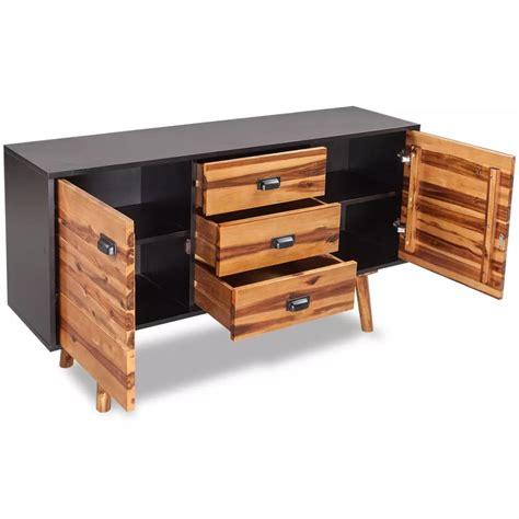 sideboard 70 cm hoch vidaxl co uk vidaxl solid acacia wood sideboard 130x35x70 cm