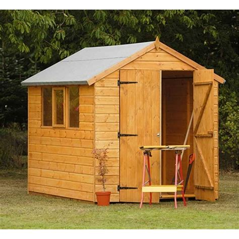 Shed 8x6 by Shedswarehouse Hanbury 8x6 Robust Shiplap Apex