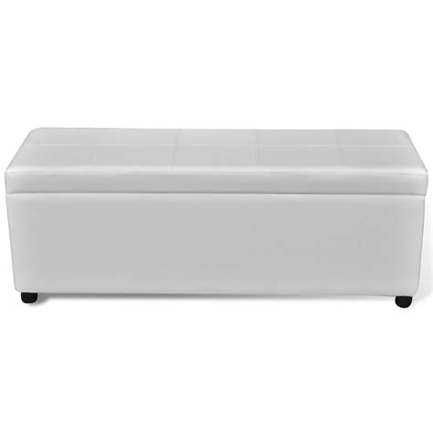 long storage bench vidaxl long storage bench wood white vidaxl com